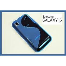 S-Line TPU SchutzHülle für Samsung Galaxy S Plus i9001 Silikon Hülle in Blau