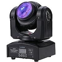 Lixada 2LED 20W RGBW 15 / 21 Canali DMX 512 Doppia Faccia Trave Infinito Rotante Luce della Fase Lampada Modello