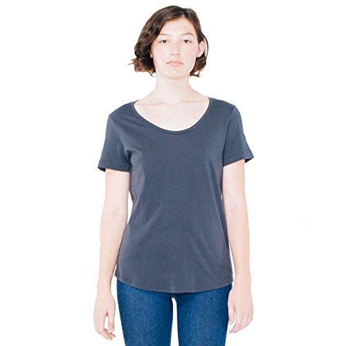 American Apparel Damen Modern T-Shirt Small Anthrazit