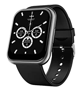 """Noise ColorFit Ultra Smartwatch with 1.75"""" HD TruView Display, 60 Sports Modes, SpO2, Heart Rate, Stress, REM & Sleep Monitor, Calls & SMS Quick Reply, Stock Market Info (Gunmetal Grey)"""