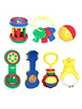 #9: Mee Mee Baby Rattle Gift Set  (7 Piece)