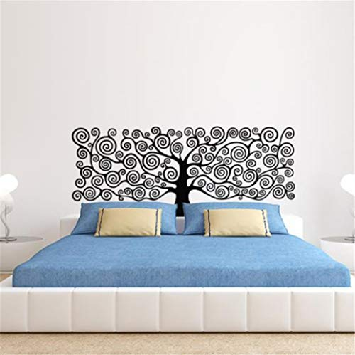 Baum des Lebens wandaufkleber Vinyl Pflanze Kopfteile DIY aufkleber haus dekoration für Schlafzimmer kinderzimmer 57 * 142 cm