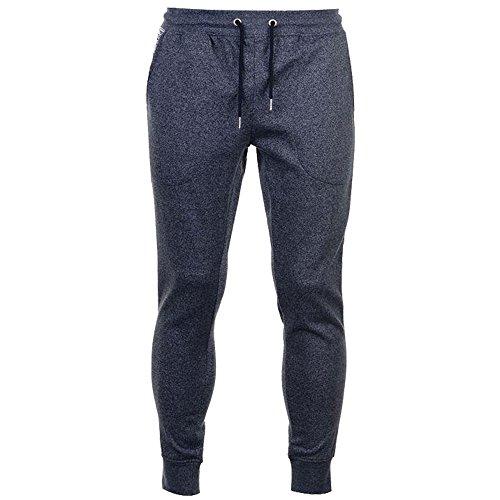 Pierre Cardin Uomo Marl e Stripe Pantaloni da jogging Denim Marl