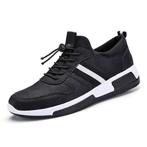 XIGUAFR Chaussure de Sport de Course en Plein Air pour Homme Automne Hiver Basse Chaussure au Loisir Respirant Résistant à l'usure