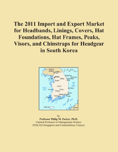 The 2011 Import and Export Market for Headbands, Linings, Covers, Hat Foundations, Hat Frames, Peaks, Visors, and Chinstraps for Headgear in South Korea