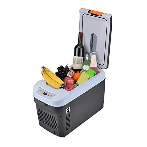 Camping Kühlschrank Auto Autokühlschrank Elektrische Kompressor Kühlbox/Gefrierbox 25 Liter 12/24 V Für Auto Mit Kühl Und Heizfunktion