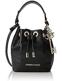Versace Jeans Couture Bag, femme, Noir (Nero), 10.5x20x16.5 cm (W x H L)