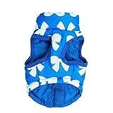 Bayliney_Haustier Hund Winter Mantel Katze Jacke Lieferungen Kleider Bekleidung HüNdchen KostüM(Blau,S)