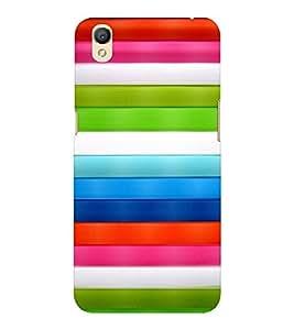 EPICCASE Parallel lines Mobile Back Case Cover For OPPO A37 (Designer Case)