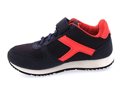 Carcassi , Mädchen Sneaker marineblau / rot