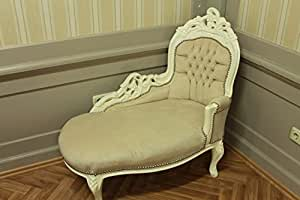 LouisXV Baroque méridienne Chaise Style Antique AlSo0316WeRosaBaby