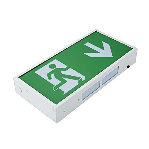 Biard LED 3 Watt Notbeleuchtung Notleuchte Orientierungslicht Exit Notausgang