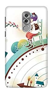 TrilMil Printed Designer Mobile Case Back Cover For Huawei Honor 6X / Honor 6X