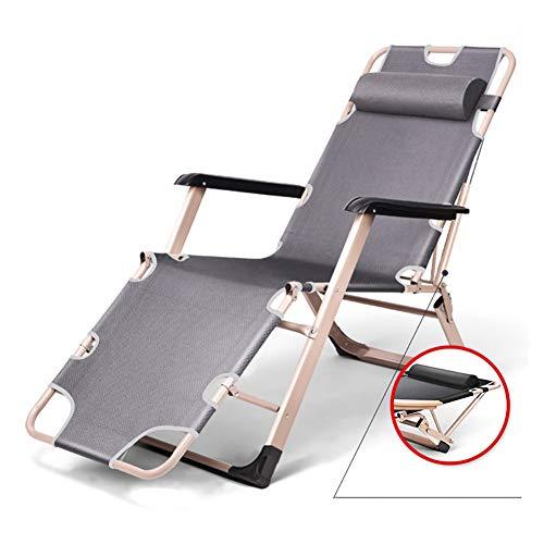 FF Liegestühle Extra breite Liegestühle Sonnenliege für schwere Menschen, Patio Lay Falt Schwerelosigkeit Stuhl für Camping Beach, Unterstützung £ 330 - Extra Breiter Falt -
