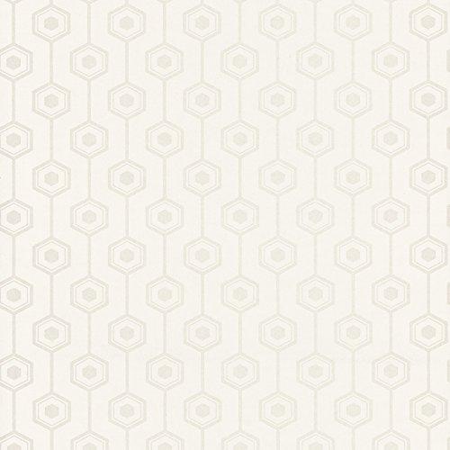 caselio-shades-67780004-carta-da-parati-di-forme-geometriche-hexagonos-con-il-fondo-bianco-panna-e-d