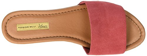 Tosca Blu Zolfo, Mules femme Rouge - Rot (CORALLO C55)