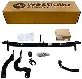Starre Westfalia Anhängerkupplung für C4 Picasso und C4 Grand Picasso (beide BJ 11/2006 – 01/2011) im Set mit 13-poligem fahrzeugspezifischen Westfalia Elektrosatz