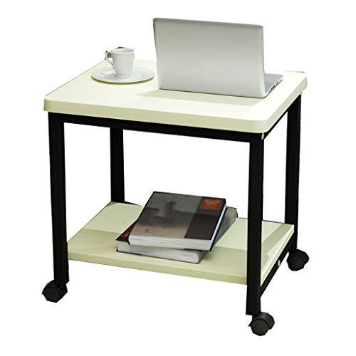 KXGL Compacto Móvil Mesa para Laptop Mesa Auxiliar,Soporte para ...