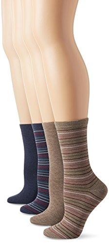 PEDS Mehrfarbig Groesse Shoe Size/5-10 US / (Peds Crew Socken)