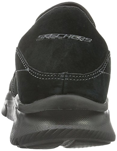Skechers Equalizer-Mind Game, Baskets Basses Homme Noir (Black)