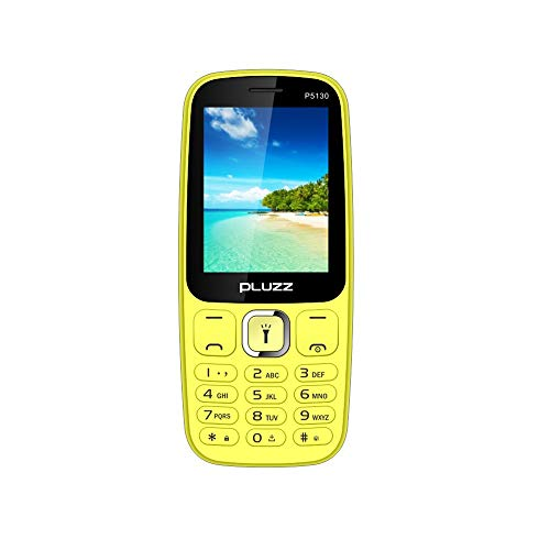Fulltime E-Gadget 2,4 Zoll Funktionale Telefonkamera RAM 32 MB Unterstützt MP3, MP4, FM Dual SIM-Karte großer Lautsprecher Handy (Gelb)