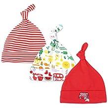 Casa Cappello Unisex 3 Pezzi Neonato Berretto di Cotone  308ac4657d96