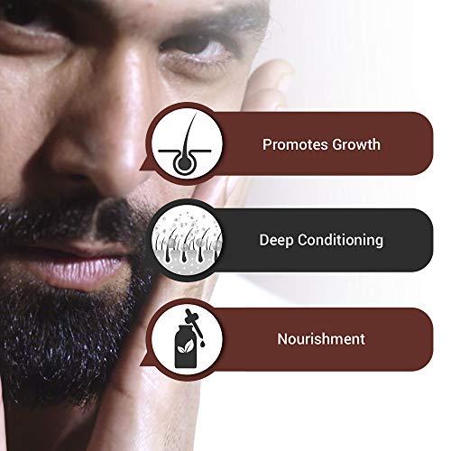 The Man Company Beard Growth Oil - 30 ml (Almond & Thyme)