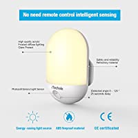 LED Night Light, iTechole Plug-and-Play Automatic Wall Lights with Dusk to Dawn Photocell Sensor, Night Lamp Lighting for Babyroom, Kids, Children's room, Nurseries, Stair, Hallway, etc-Warm White from iTechole
