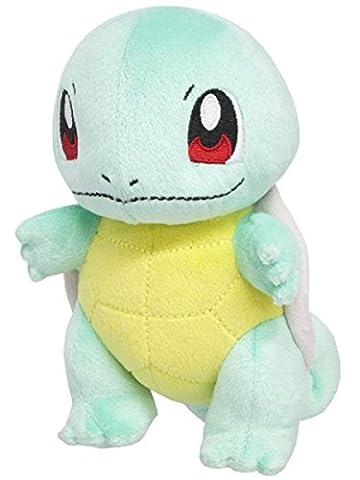 Sanei Pokemon All Star Series PP19 Squirtle Stuffed Plush, 6