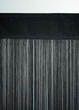 Fadenvorhang ca. 150 x 300 cm schwarz in B1 nach DIN 4102
