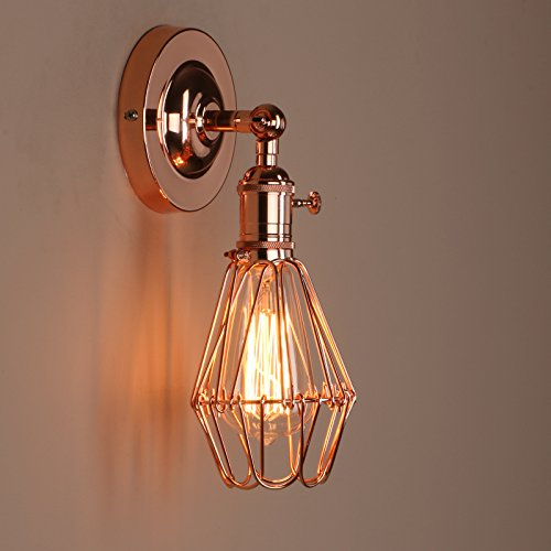 Copper Wall Light: Amazon.co.uk