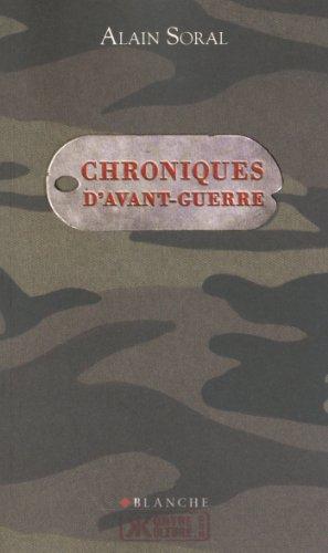 Chroniques d'avant-guerre