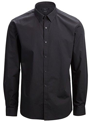 Selected Travisbelfast - Chemise habillée - Taille ajustée - Manches longues - Homme Noir