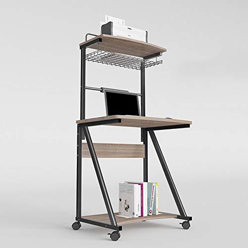 YueQiSong Multi-Funktions-Tisch Computer Schreibtisch Schreibtisch mit Hutch Modern Style Workstation Schreibtisch, b, Ohne Tastaturunterstützung (Hutch Schreibtisch Moderne Mit)