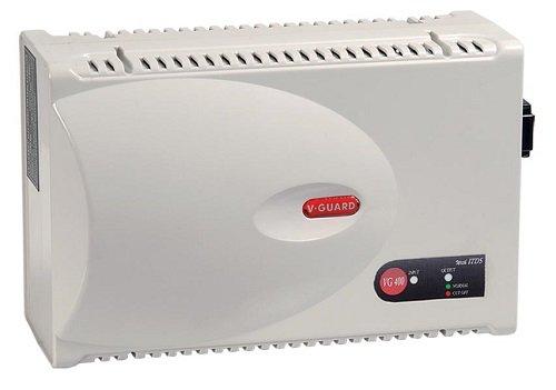 V-Guard VG 400 Voltage Stabilizer for Air-Conditioner (Grey)