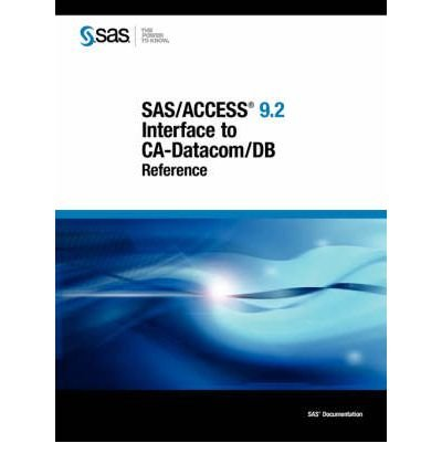 sas-access-92-interface-to-ca-datacom-db-reference-paperback-common