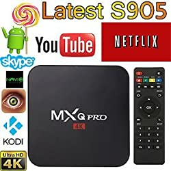 NPET MXQ Pro Android 5.1 TV Box - Black