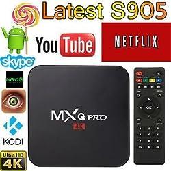 MXQ Pro Amlogic S905 Streaming Media Player