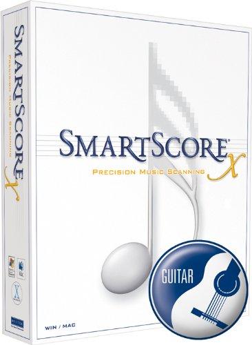 SmartScore X Deutsch - Guitar Edition - Notenscannsoftware