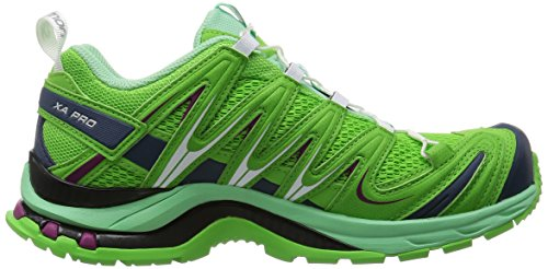 Salomon XA Pro 3D, Scarpe da Trail Running Donna tonic green-lucite green-mystic purple