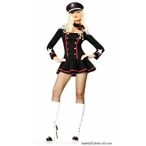 Gorgeous Halloween weiblicher Marine-Seemann Seemann Uniformen Uniformen Versuchung Frau Kleid PartykostümeEuropa