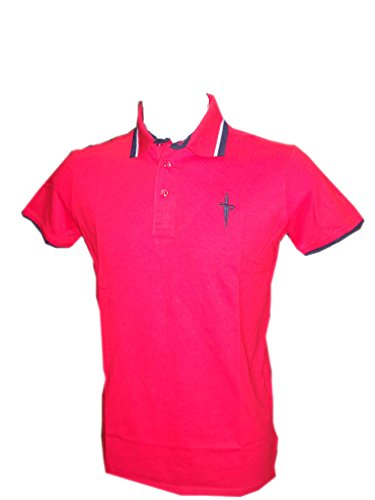 Cesare Paciotti Herren Poloshirt rot RED