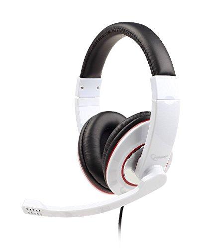 Gembird MHS-001-GW Stereo Headset glänzend weiß - 001 Stereo