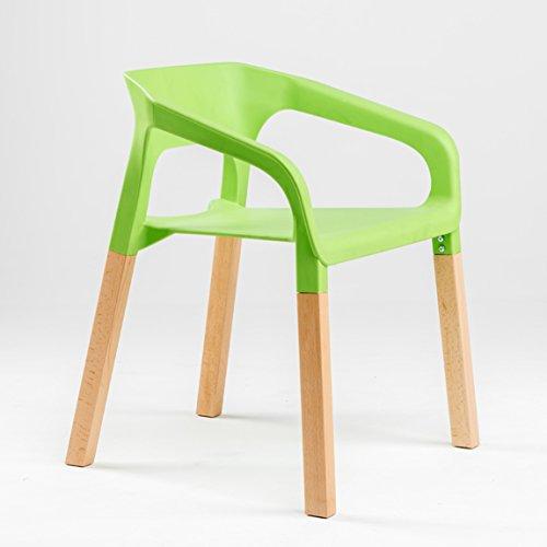 LRW Europäische Freizeit Stühle Moderne Minimalistische Handlauf Rückenlehne Kunststoff Stuhl Restaurant Warte Stuhl Milch Tee Shop Einfache Gartenstuhl