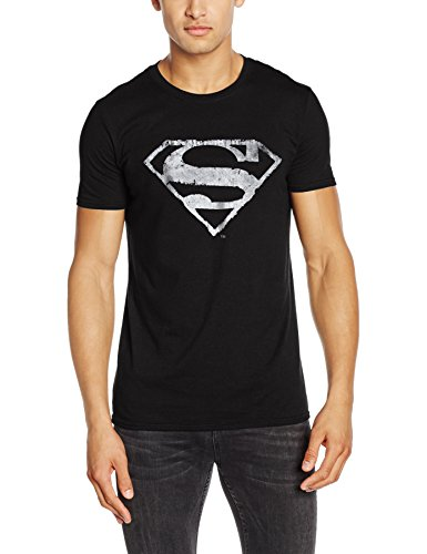 Superman Logo Mono Distressed, Camisetas para...