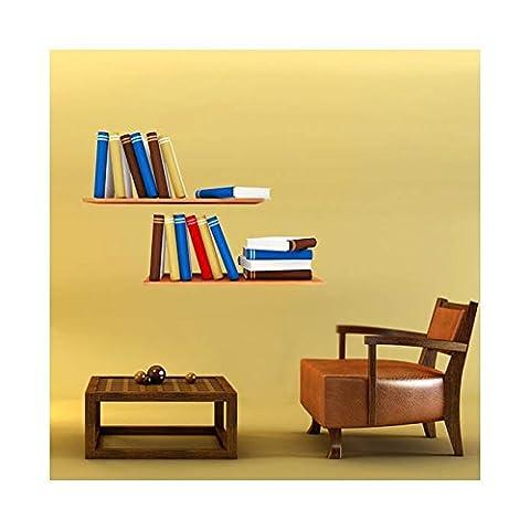 Stickers Etagere - Stickers Etagères de livres - L 160cm