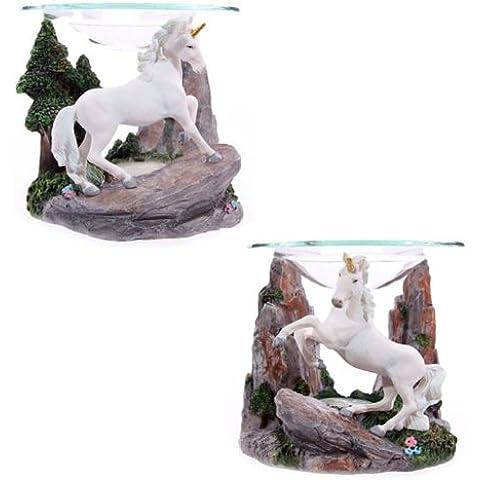 Puckator - Lampada aromatica per olio, motivo: Unicorno