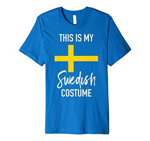 Das ist My Schwedische Kostüm T-Shirt-Funny Halloween Tee