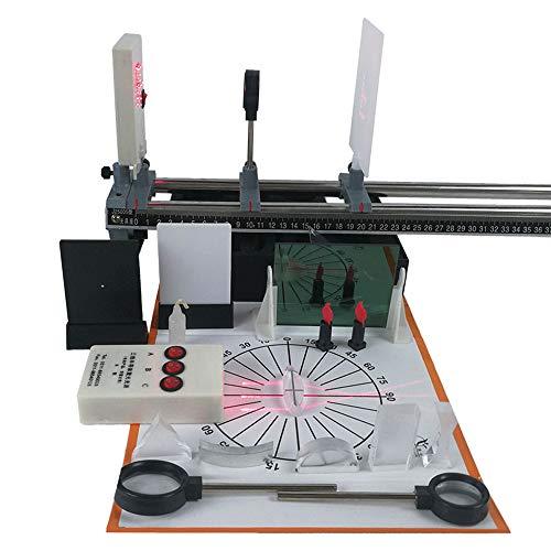 Physikalische Optik Experiment Set Lens Imaging Prinzip Optische Bank Gerade Linie Von Licht Physik Lehrinstrument - Experiment Glühbirne