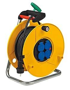 Brennenstuhl 1323531 Rol'Up Enrouleur de câble électrique Standard Pro 30 m H07RN-F 3G1,5